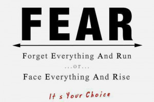Face Your Fears Quotes