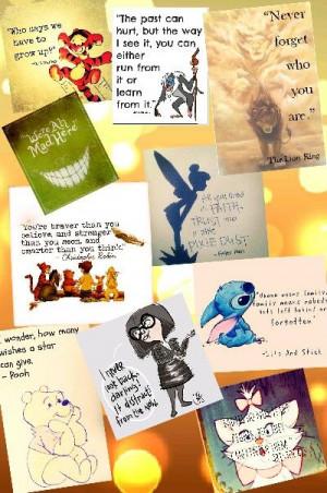 Amazing Disney quotes !! XD