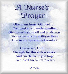 Nursing Students Prayer - Image ID: 7773