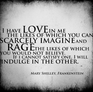 ... , Frankenstein Quotes, Book, Plaque, Word, Rage, Brass, Mary Shelley