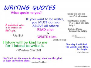 These Writing Quotes From