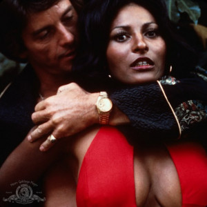 Still of Pam Grier and Peter Brown in Foxy Brown (1974)