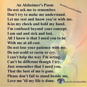 Dementia/Aging Parent
