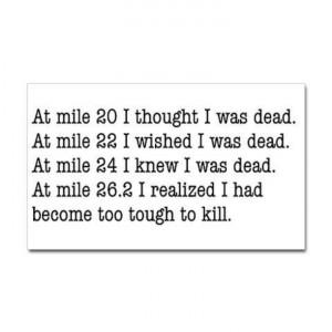 Marathon inspiration.