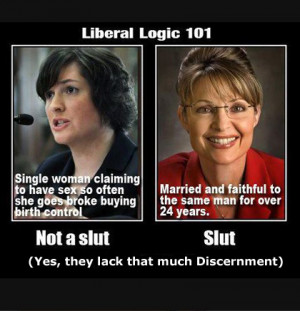 ... HYPOCRISY ABOUT SANDRA FLUKE (While ignoring Hate Speech on the Left