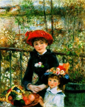 Renoir, On the Terrace, 1881, oil canvas, Art Institute of Chicago