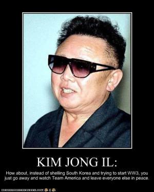 funny pics of kim jong il