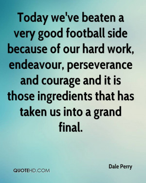 We've Beaten a Very Good Football Side Because Of Our Hard Work ...