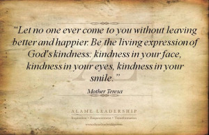 ... of kindness inspiring quote on giving and kindness alame leadership