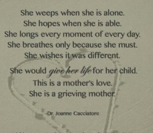 grief quotes loss of mother