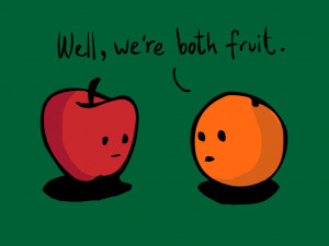 Apples and Oranges for a Better America!