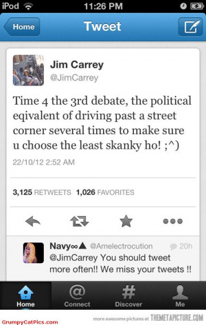 Funny Tweets Jim carrey tweets about