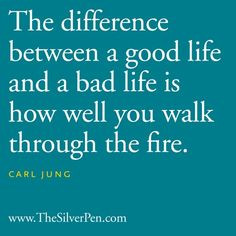 The Difference - Carl Jung - Inspirational Picture Quotes About Life ...