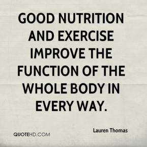 Nutrition and Fitness Quotes