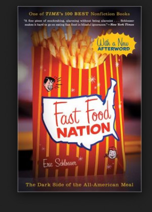 fast food chains spend a large amount of marketing to get the