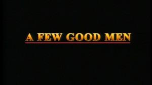 Looking for a Few Good Men