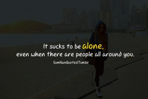 alone, girl, love, quote, relationship, stylish