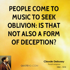 Claude Debussy Quotes