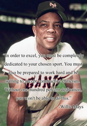 Motivational Quotes - Willie Mays