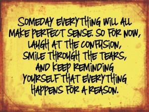 smile through the tears