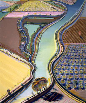 Wayne Thiebaud (landscapes)