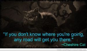 alice in wonderland cheshire cat quote i imgur