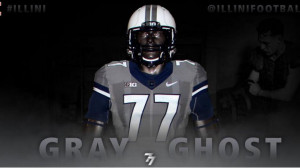 Illinois to wear 'Gray Ghost' uniforms in honor of Red Grange