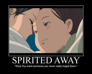 anime spirited away quotes