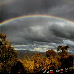 Rainbow storm :)