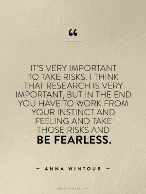 Anna Wintour Quotes