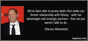 More Harvey Weinstein Quotes