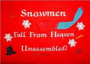 Snowmen quote