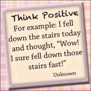 ... stairs today and thought,