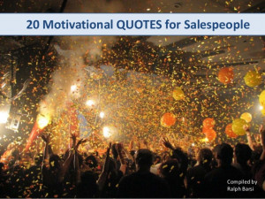 20 Motivational Quotes for Salespeople
