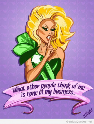 What others think about me quote