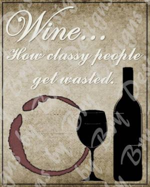 INSTANT DOWNLOAD - Wine Quote
