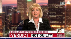 Nancy Grace Reacts to the Casey Anthony Verdict