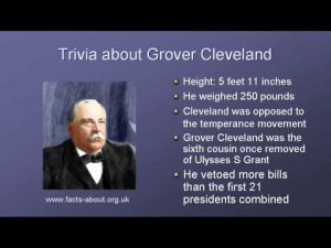 President Grover Cleveland Biography