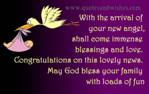 Newborn Baby Girl Quotes Congratulations new born
