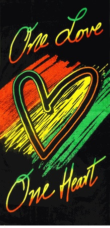 Rasta Love Quotes: One Love Rasta Beach Bath Towel Love ,Quotes