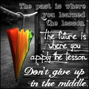 Past, future & middle