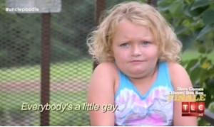 Honey Boo Boo Everybody's A Little Gay Autotune