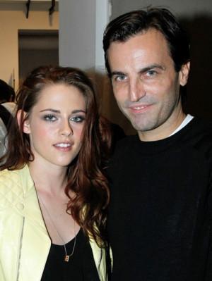 Kristen Stewart & Nicolas Ghesquière - foto: Getty Images