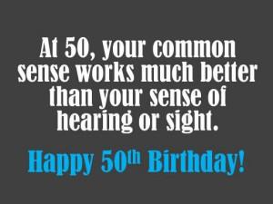Funny 50th birthday saying. #birthday #quotes #saying #joke