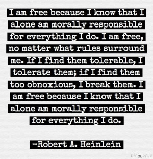 Quote by Robert A. Heinlein