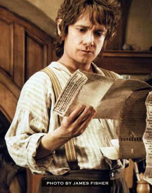 Martin Freeman as Bilbo Baggins in The Hobbit Movie