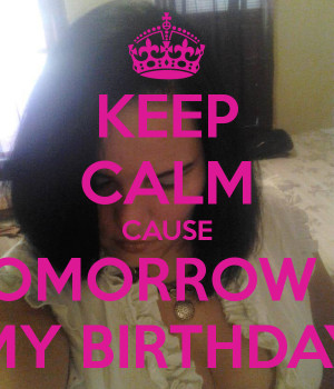 Keep Calm Birthday Quotes