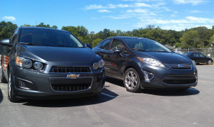 Ford Is Better Than Chevy Quotes Ford fiesta - chevy sonic