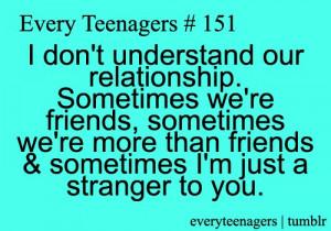 Teenage, quotes, sayings, relationship, couple, stranger
