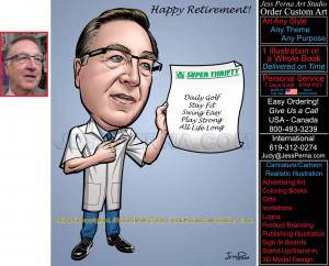 ... Therapist, Nurse, Pharmacist and Health Coach Caricature Cartoons